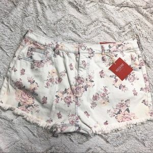 Mossimo • High Rise Short Shorts Floral New
